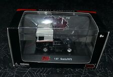 MALIBU INTERNATIONAL SCANIA R470 BLACK AND WHITE 1:87 SCALE VERY HARD TO FIND !!