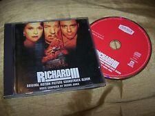 RICHARD III ORIGINAL MOTION PICTURE SOUNDTRACK CD ALBUM TREVOR JONES 1996
