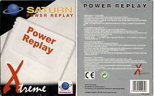 POWER REPLAY - ACTION REPLAY SATURN  - EDIZIONE ITALIANA, NUOVO E SIGILLATO