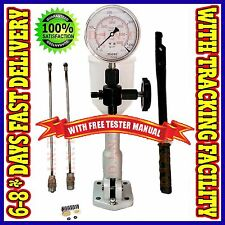 Diesel Injector Nozzle Pop Tester Glycerin Filled Dual Scale 6000 BAR/PSI Gaug c