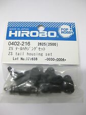 Original Hirobo Heckrotor komplett 0402-216 ZS TAIL HOUSING SET
