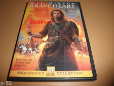 Braveheart dvd Mel Gibson commentary Sophie Marceau catherine mccormack