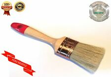 #RB50 pure bristle 50mm chalk bsd peinture shabby chic meuble ovale paintbrush