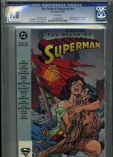 CGC 9.8 THE DEATH OF SUPERMAN #NN WHITE PAGES TPB