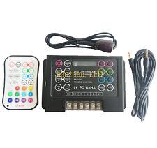 Fashion 5050 LED RGB Music Controller DC5-24V PWM 18A & IR Remote Controller DIY