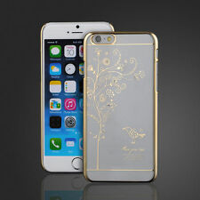 New Crystal Diamond Electroplate Back Case Cover For iPhone and Samsung Phones