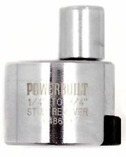 "Powerbuilt 648639 1/4"" to 3/4"" Stud Extractor - NIP"