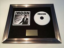 SIGNED/AUTOGRAPHED WILLY MOON - HERE'S WILLY MOON FRAMED CD PRESENTATION. RARE