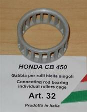 Honda CB450 Cappellini #32 connecting rod bearing individual cage use 19 rollers