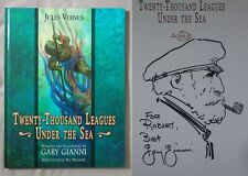 Signed w/Sketch1st Ed 20,000 LEAGUES UNDER SEA Gary Gianni HC JULES VERNE