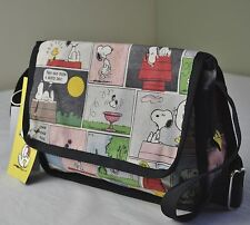 LeSportsac Snoopy Peanuts Patchwork 8239 Shelby Crossbody Bag