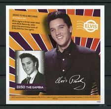 Gambia 2016 MNH Elvis Presley His Life in Stamps RCA Records 1v S/S III