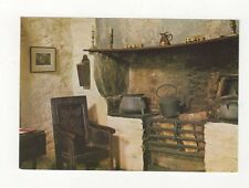 The Old Post Office Tintagel The Hall Fireplace 1978 Postcard 450a