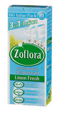 Zoflora Concentrated Antibacterial Triple Action Disinfectant Linen Fresh 500ml