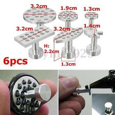 6Pcs Car PDR Glue Pulling Puller Tabs Paintless Dent Hail Removal Repair Tools