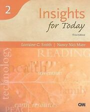 Insights for Today, Third Edition (Reading for Today Series 2) - Brand NEW