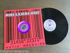 """MOVIN MELODIES Rollerblade 12"""" 1997 Vinyl Oliver Lieb LSG Dillon & Dickins Mixes"""
