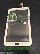 "SAMSUNG GALAXY TAB 3 DIGITIZER 7"" TOUCH SCREEN FOR SM-T210 SM-T210R T210 WHITE"