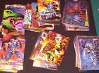 1995 Marvel Masterpieces EMOTION SIGNATURE PARALLEL CARD SINGLES! AVENGERS X-MEN