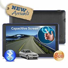 7'' Truck Car GPS Navigator 8GB Navigation System Sat Nav w/ Bluetooth Free Maps