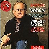 Bartok: Concerto for Orchestra / The Miraculous Mandarin, Complete, , Very Good