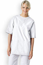 SCRUB TOP SURGICAL TUNIC UNISEX 8 COLOURS MEDICAL HOSPITAL VET BEAUTY  DENTIST