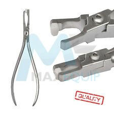 ORTHODONTIC Dental BAND REMOVING PLIERS Nylon PAD TIP Lab Dentist TOOL Quality