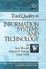 Total Quality In Information Systems And Technology-ExLibrary