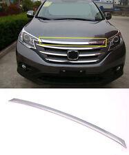 Chrome Front Engine Lid Cover Trim for 2012-2016 Honda CRV CR-V ABS Molding Trim