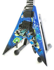 Miniature Guitar MEGADETH - RUST IN PEACE with free stand. Flying V