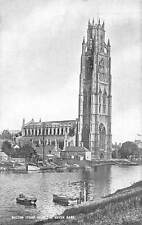 Boston Stump from The Haven Bank River Boats Cathedral