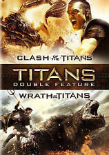 Clash of the Titans/Wrath of the Titans (DVD, 2015, 2-Disc Set) NEW