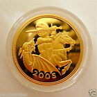 2005 NEW DESIGN GOLD PROOF FOUR COIN SET £5 £2 SOVEREIGN 1/2 HALF SOVEREIGN