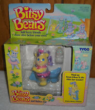 #7655 NRFB Vintage Tyco Bitsy Bears Scoot A Bear & Toodles Set