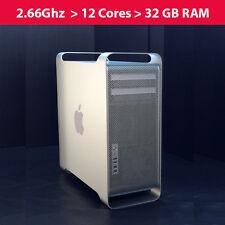 Apple Mac Pro 2.66Ghz 12-Core /*MB535LL/A-CTO* 32GB RAM /640GB HDD
