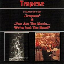 "Trapeze:  ""S/T & You Are The Music... We're Just The Band""  (Digipak CD Reissue)"