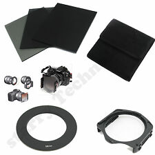 FULL ND2 4 8 filter+ Pouch Case+ 52mm Adapter Ring+Holder for Cokin P Series