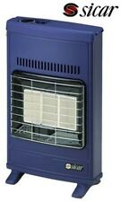 STUFA A GAS MURALE GPL ECO40  BLU MADE IN ITALY SICAR FOXTRADE