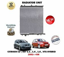 FOR CITROEN C2 + C3 1.1 1.4 1.6 VTS HYBRID MANUAL 2002--  NEW RADITOR UNIT