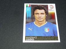 N°292 MASSIMO ODDO ITALIA ITALIE GLI AZZURRI PANINI FOOTBALL UEFA EURO 2008