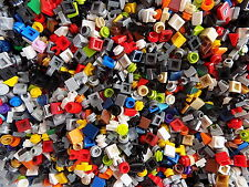 Lego Huge lot of 500 Small Detail finishing Pieces Mix Colors 1x1s Free Shipping