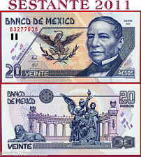 MEXICO  MESSICO - 20 PESOS 10.5. 1996 Serie AA -  P 106b - FDS-/FDS  ;  UNC-/UNC