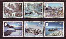 "ISLE OF MAN 2010 CHRISTMAS ""LET IT SNOW"" WINTER SCENES UNMOUNTED MINT, MNH"