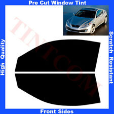 Pre Cut Window Tint Hyundai Genesis 2 Doors Coupe 2008-... Front Sides Any Shade