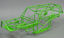 AXIAL WRAITH 2.2 All Metal FRAME BODY ROLL CAGE  w/ Metal Sheets GREEN
