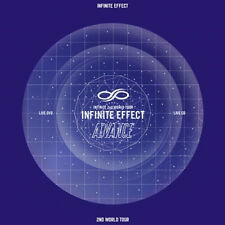 INFINITE-[EFFECT ADVANCE LIVE] 2 DVD+2 CD+92p Photo Book+Photo Card K-POP Sealed