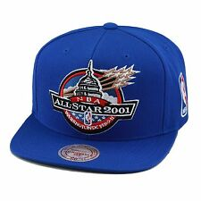 "Mitchell & Ness NBA All Star Game Snapback Hat Cap 2001 ""Washington DC"" wizards"