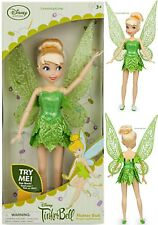 """TINKER BELL ~DISNEY STORE~ 2016 CLASSIC 10"""" FAIRY DOLL FREE PRIORITY SHIPPING"""