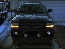 1997-2004 Dodge Dakota Halo Fog Lamp Angel Eye Driving Light Kit + Harness