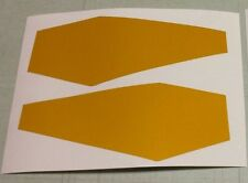 Ski-Doo REV XP 08-17 Snowmobile Front Nosepan Reflectors Set of 2 *NEW*
